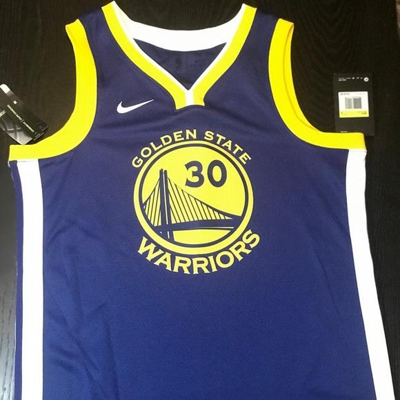 size 40 7e65f 20103 Stephen Curry GS Warriors Nike NBA Swingman Jersey